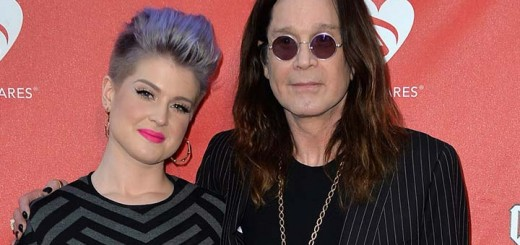 Kelly Osbourne with Ozzy Osbourne